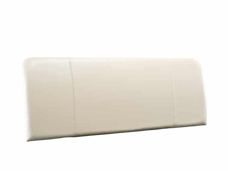 Bow Cream Leather Headboard